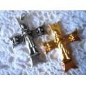 Pendentif croix Jeanne d'Arc