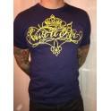"""T-Shirt """"Vive le Roi"""" calligraphie homme"""