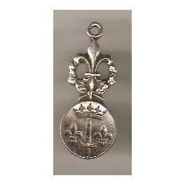 Pendentif Armoriale de Jeanne d'Arc, la Pucelle d'Orléans