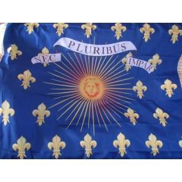 """Drapeau """"Royal"""" au soleil de Louis XIV"""