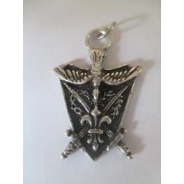 pendentif plaque Camelot