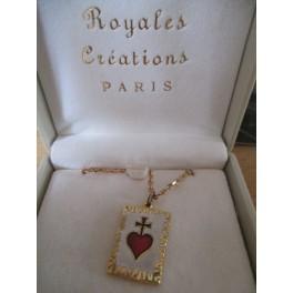 """chainette doré """"Royales Créations Paris"""" Sacré-coeur"""