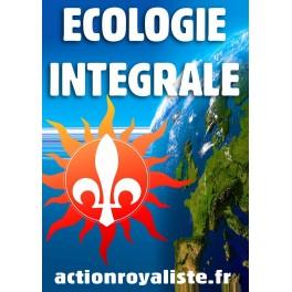 """50 autocollants  """"Ecologie intégrale"""" :"""