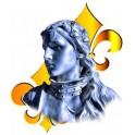 Autocollant Jeanne d'Arc
