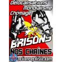 """50 autocollants  """"Brisons nos chaînes"""" :"""