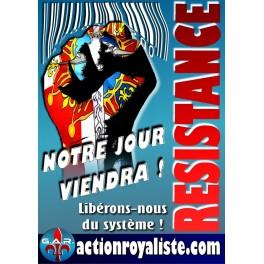 """Lot de 25 affiches """"Résistance"""""""