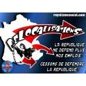 """Lot de 25 affiches """"Contre les délocalisations"""""""