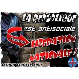 """Lot de 25 affiches """"Libération nationale"""""""